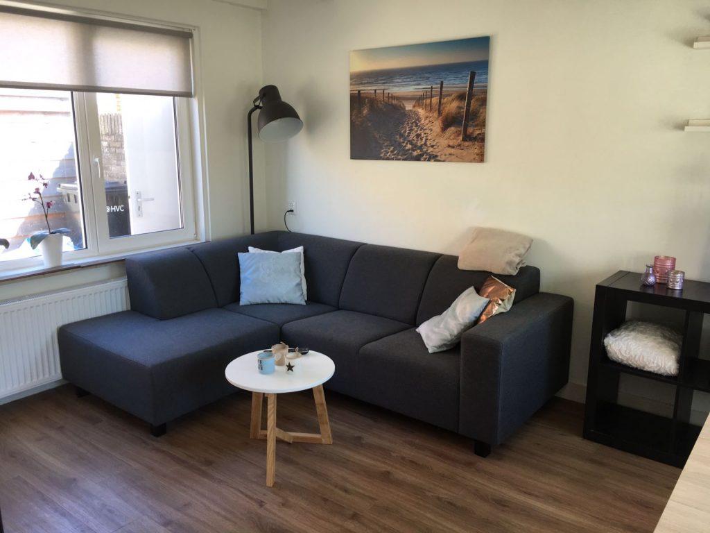 Woonkamer strand83 vakantiehuis egmond